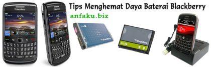 Tips Menghemat Daya Baterai Blackberry