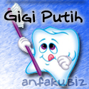 menjaga gigi putih